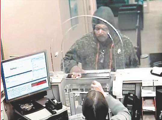 Courtesy Fort Wayne police Police say this man attempted to rob the Chase Bank branch at 204 E. Pettit Ave. on Wednesday but didn't get any cash and left before officers arrived.