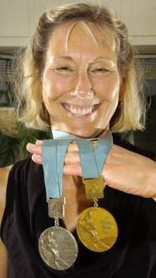 """File """"They had a boys swim team at Snider, but no girls team,"""" said 1968 Olympic gold medalist Sharon Wichman. """"I was the only girl I knew of who swam."""""""