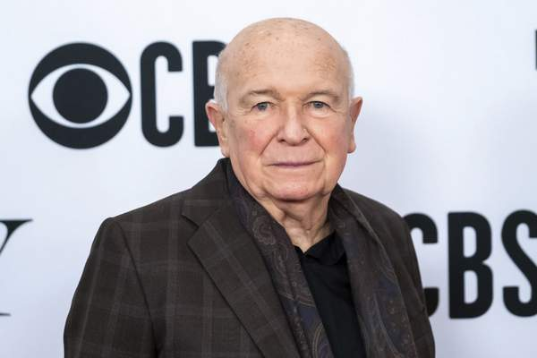FILE - This May 1, 2019 file photo shows playwright Terrence McNally at the 73rd annual Tony Awards Meet the Nominees press day in New York. McNally, one of America's great playwrights whose prolific career included winning Tony Awards for the plays Love! Valour! Compassion! and Master Class and the musicals Ragtime and Kiss of the Spider Woman, died Tuesday, March 24, 2020, of complications from the coronavirus. He was 81. (Photo by Charles Sykes/Invision/AP, File)