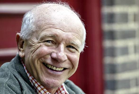 FILE - This May 14, 2006 file photo shows Tony Award winning playwright Terrence McNally in front of the Philadelphia Theater Company in Philadelphia. McNally, one of America's great playwrights whose prolific career included winning Tony Awards for the plays