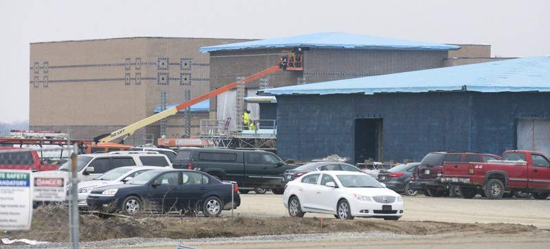 Michelle Davies | The Journal Gazette Northwest Allen County Schools new school on Hathaway Road will not be ready for students in August. The groundbreaking for the school was in December 2018.