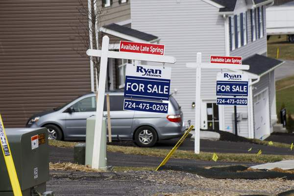 Associated Press  U.S. new home sales fell 4.4% in February with bigger declines expected  as the coronavirus puts a crimp on sales.