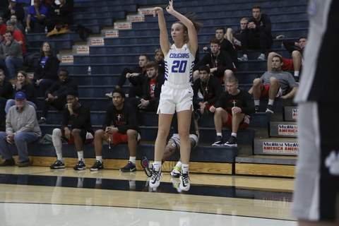 Saint Francis point guard Savannah Buck, a Homestead graduate, saw her college career end when the NAIA Division II National Championship was canceled due to COVID-19 fears. (Courtesy: Saint Francis Athletics)