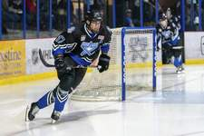 Photos by Jordan Opp | Special to The Journal Gazette Fort Wayne native Matt Miller played for Lincoln Stars of the United States Hockey League last season.