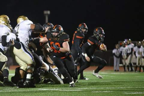 Courtesy Warsaw senior offensive lineman Griffin Reed, who helped the Tigers win their first football sectional championship, will study culinary arts in college.