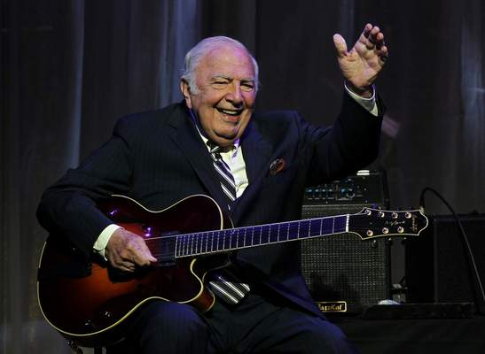 FILE - This June 5, 2011 file photo shows jazz great John