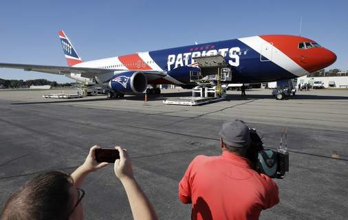 Virus Outbreak Massachusetts Associated Press  The New England Patriots' team plane returned from China with more than one million masks to help control the spread of the coronavirus. (Steven SenneSTF)
