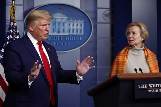 Virus Outbreak Trump Associated Press
