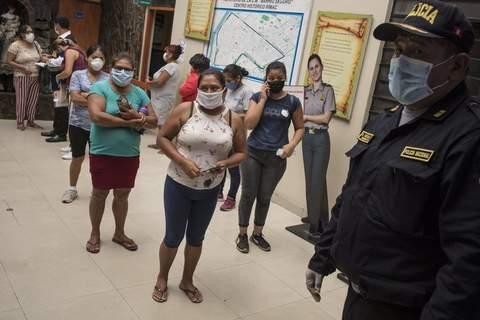 Virus Outbreak Peru Associated Press