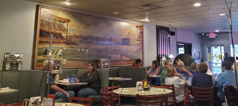 The family room at from Acme Bar & Grill on East State Boulevard.