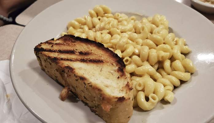 Gourmet macaroni and cheese from the Acme Bar & Grill on East State Boulevard.