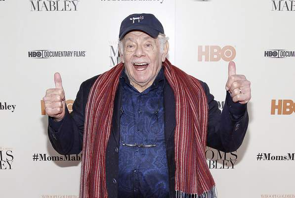 FILE - In this Nov. 7, 2013, file photo, actor Jerry Stiller arrives at the special screening of HBO's Documentary
