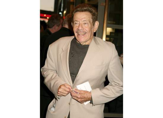 FILE - In this Oct. 4, 2007, file photo, actor Jerry Stiller arrives to the Broadway opening of Manhattan Theatre Club's