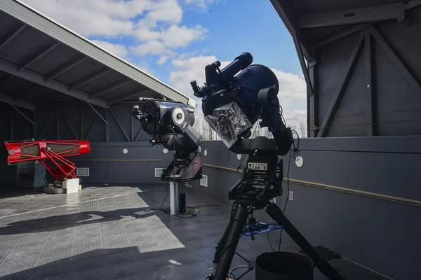 Star*Quest Observatory in New Haven has telescopes for the public to get a better look at the night sky.