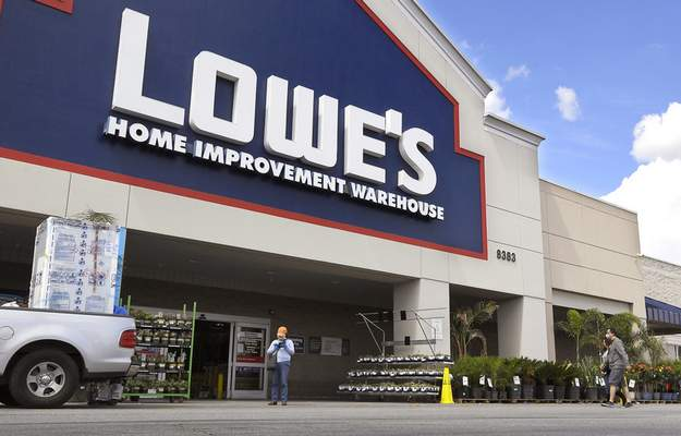 Associated Press Lowe's saw online sales rise 80% in the first quarter after the company revamped its outdated online business.