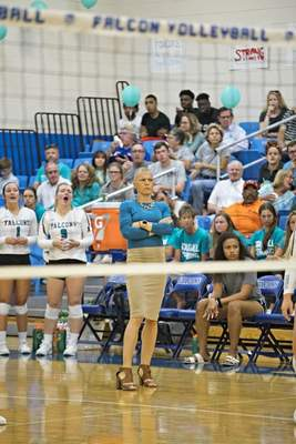 Courtesy Former Leo and IPFW star Laura Stegall started the women's program at Daytona State. In February 2019, she was diagnosed with ovarian cancer.