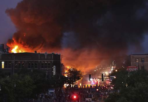 Minneapolis Police Death Associated Press