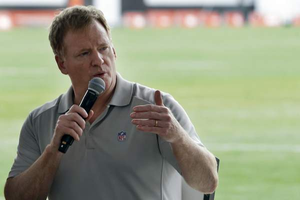 Associated Press NFL commissioner Roger Goodell extended the virtual offeason by two weeks Thursday, but is hopeful coaches will be able to return to team facilities by next week.