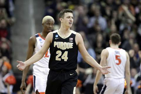 NCAA Purdue Virginia Basketball Associated Press 