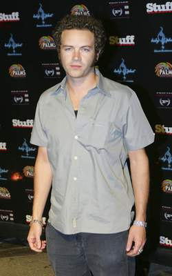 FILE - In this Aug. 13, 2005 file photo, actor Danny Masterson poses on the red carpet before attending a Phat Farm and Stuff Magazine party/fashion show in Las Vegas. (AP Photo/Eric Jamison, File)