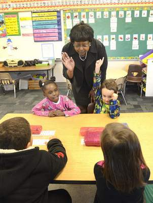 File  Citizen of the Year: Dr. Wendy Robinson at Harrison Hill Elementary.