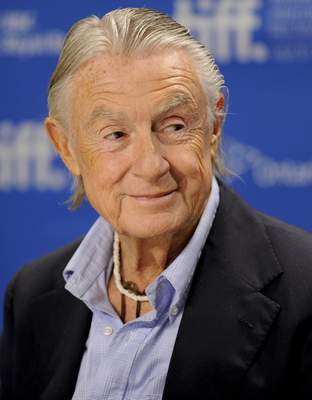 FILE - In this Sept. 14, 2011 file photo, director Joel Schumacher participates in a news conference for the film Trespass during the Toronto International Film Festival. A representative for Schumacher said the filmmaker died Monday, June 22, 2020, in New York after a year-long battle with cancer. He was 80. (AP Photo/Evan Agostini, File)