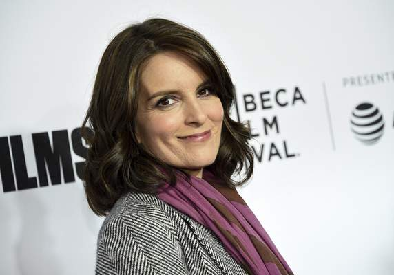FILE - In this April 18, 2018 file photo, Tina Fey attends the Tribeca Film Festival world premiere of Love, Gilda in New York. (Photo by Evan Agostini/Invision/AP, File)