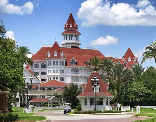 Associated Press The Grand Floridian Resort at Walt Disney World in Lake Buena Vista, Fla., is one of the places where NBA teams will be housed when season resumes next month.