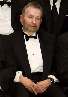 Obit  Johnny Mandel FILE - Johnny Mandel appears at the National Endowment for the Arts Jazz Master Awards Ceremony and Concert in New York on Jan. 11, 2011. (AP Photo/Charles Sykes, File) (Charles Sykes FRE)