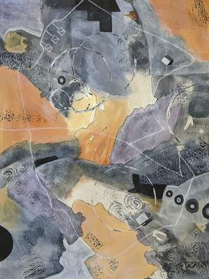 Courtesy  The work of Stevie Ross is on exhibit at the Orchard Gallery.
