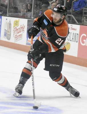 File Marco Roy is back with the Komets after a season with the Idaho Steelheads. He led Idaho with 50 points in 55 games last season.