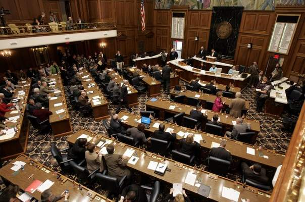 Associated Press The Legislative Continuity Committeewill begin looking at ways to conduct the next House session safely.