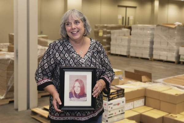 Courtesy Beth Clauser, who works in Do it Best's mailroom, began her career in General Electric's Building 26 when she was a high school junior.