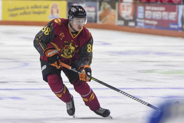 Mike Moore | The Journal Gazette Komets forward Alan Lyszczarczyk, the team's Rookie of the Year last season, was traded Monday to Idaho along with Chase Stewart for cash.
