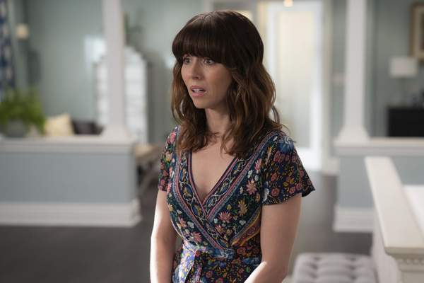 This image released by Netflix shows Linda Cardellini in a scene from Dead to Me. Cardellini was nominated for an Emmy Award for outstanding lead actress in a comedy series on Tuesday, July 28, 2020 (Saeed Adyani/Netflix via AP)