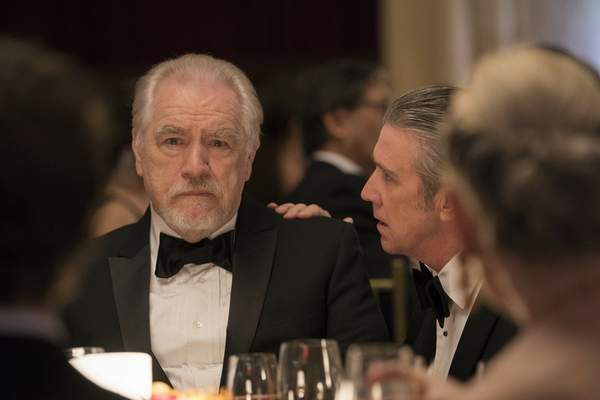 This image released by HBO shows Brian Cox in a scene from Succession. (HBO via AP)