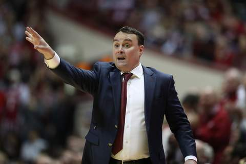 Associated Press Indiana basketball coach Archie Miller has been proud of the way his team has handled the uncertainty surrounding the COVID-19 pandemic. (Craig Bisacre/Indiana AthleticsPhotographer)