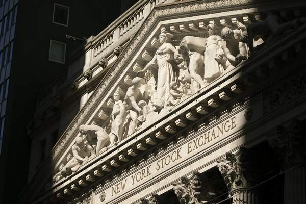 The New York Stock Exchange is shown, Tuesday, July 21, 2020. (AP Photo/Mark Lennihan)