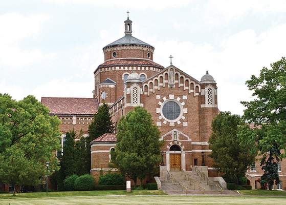 The Felician Sisters' convent in Livonia, Michigan.