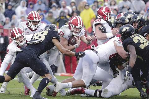 Indiana Purdue Football Associated Press