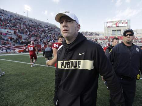 Purdue Indiana Football Associated Press