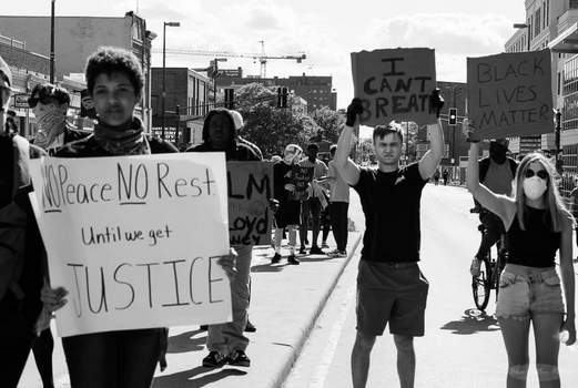 Courtesy photo  Olivia Samuels went to the Black Lives Matter protests here to be part of history. Her arrest came June 14.