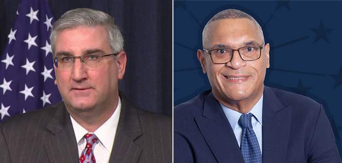 Left: Holcomb; Right: Myers