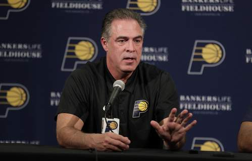 Pacers Basketball Pritchard (Michael ConroySTF)