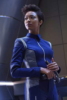 """CBS Sonequa Martin-Greenstars in """"Star Trek: Discovery."""" The first season of the seriesairs on CBS this fall shortly before the third season debuts on CBS All Access."""