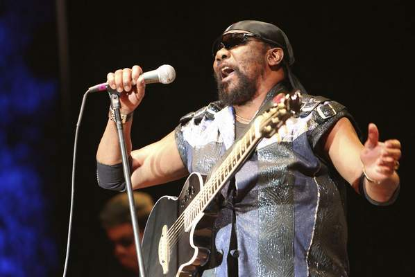 n this July 13, 2019 file photo, Toots Hibbert performs with the Maytals in Grass Valley, Calif. (Elias Funez/The Union via AP)