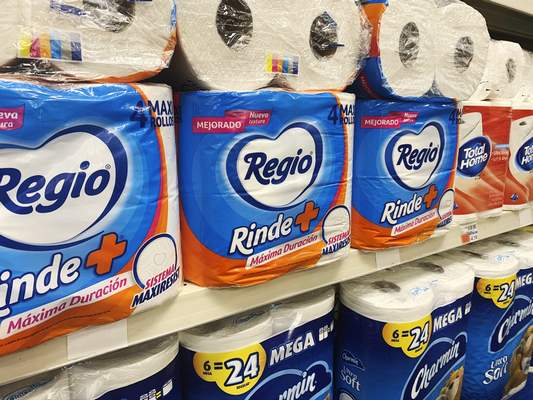Associated Press Regio, a Mexican toilet paper brand, is one of many foreign manufacturers being bought up by prominent retailers in the United States to address the pandemic-caused shortage.