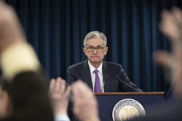 Associated Press Federal Reserve Chairman Jerome Powell is leading the first policy meeting since a revision of the central bank's approach to interest rates.