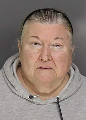 This undated photo provided by the Bridgeport Police department shows Dale LaPrade, a former caretaker of Park Cemetery in Bridgeport, Ct. Dale LaPrade, 66, was charged with first-degree larceny on Sept. 10 after a forensic audit discovered the theft of funds from Park Cemetery in Bridgeport between 2016 and 2018. (Bridgeport Police via AP)
