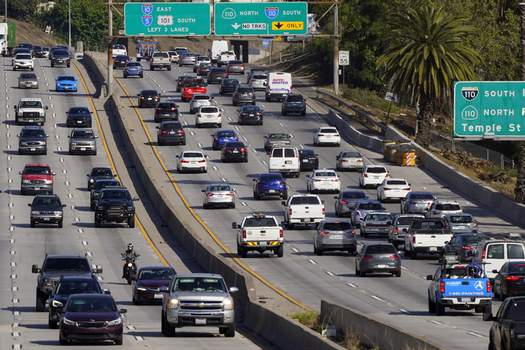 US California Gas Vehicles Associated Press